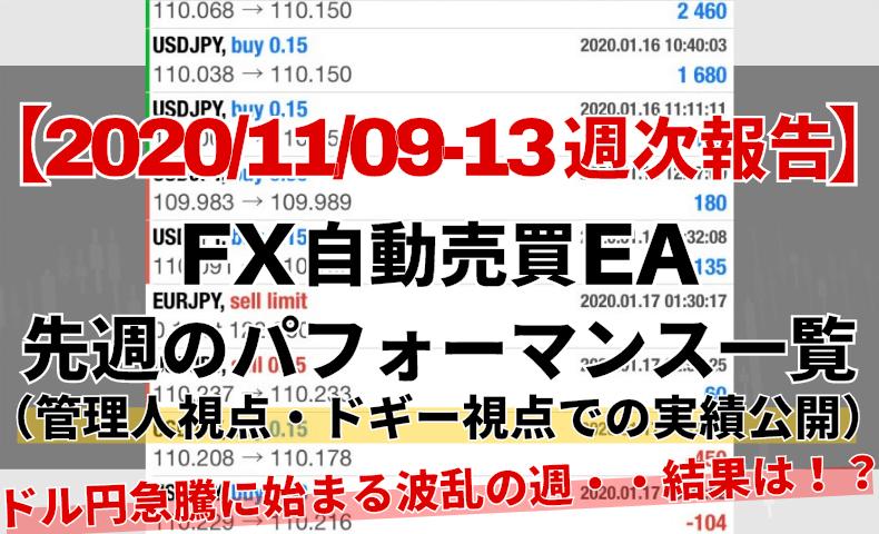 【週次報告】CGアイキャッチ20201109から13まで