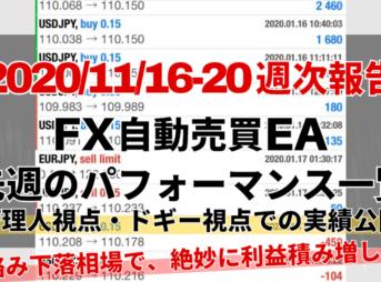 【週次報告】CGアイキャッチ20201116から20まで