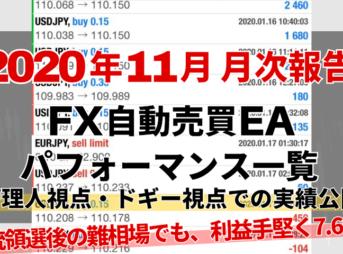 【月次報告】CGアイキャッチ2020年11月
